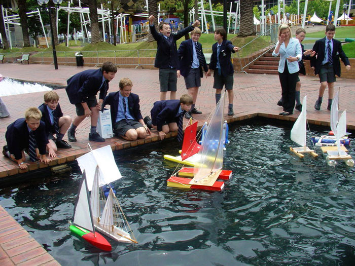 Student days out in Sydney