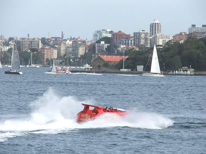 Sydney Speed Boat Fun