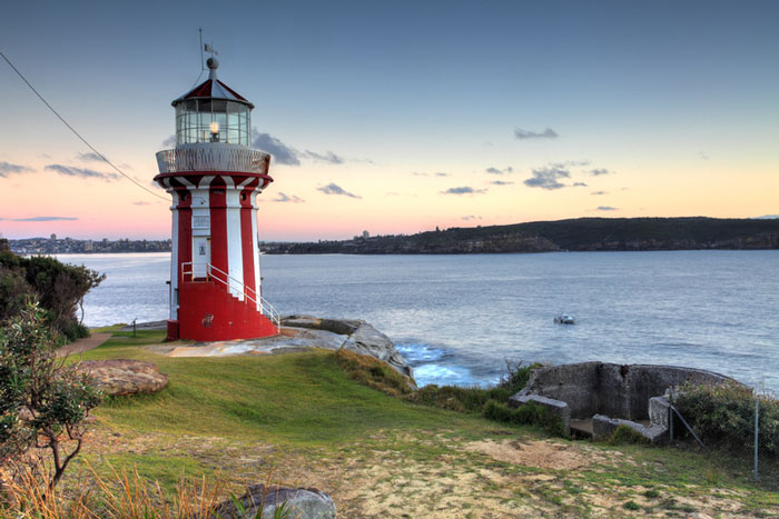 The Hornby Lighthouse, Sydney, Australia