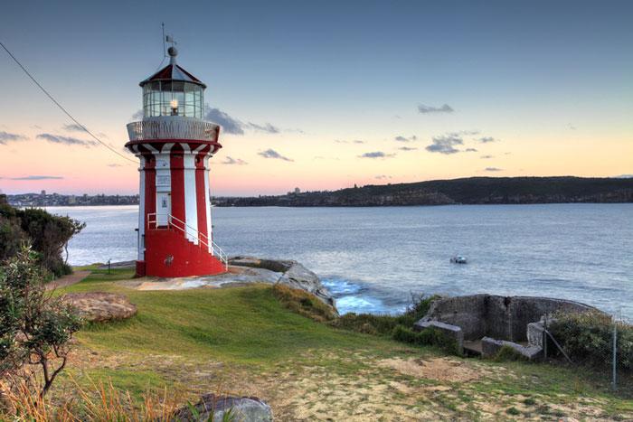 The Hornby Lighthouse, Sydney, Australia